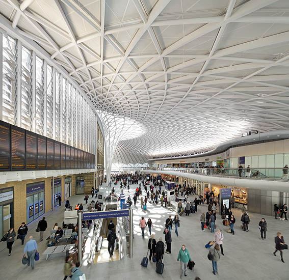 Entre europe et chine des gares insolites au carrefour des mondes - Gare king cross londres ...